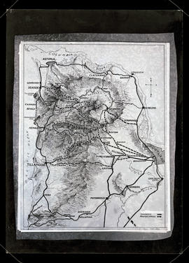 Map of highways and proposed routes in northwest Oregon