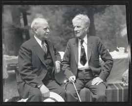 Congressman Charles H. Martin and B. F. Irvine at Democratic Party picnic