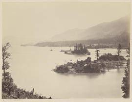 """Islands in the Columbia. Upper Cascades."" (Mammoth 441)"