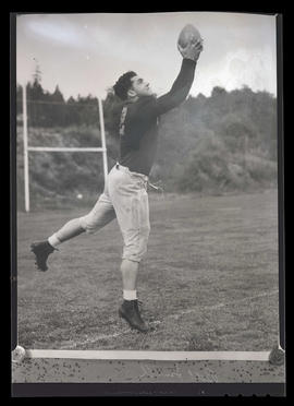 Photograph of Bill Smith, football player