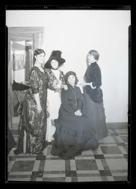 Four women in costume