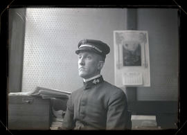 Unidentified U. S. Navy officer?