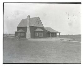 Clubhouse at unidentified golf course