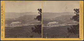 """The Dalles, from Sun Set Hill."" (Stereograph 1318)"