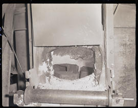 Furnace at Columbia Steel Casting Company