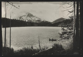 View of Lost Lake and Mount Hood