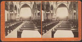 """Interior of Christ Church, Victoria, (B. C.)"" (Stereograph 5294)"