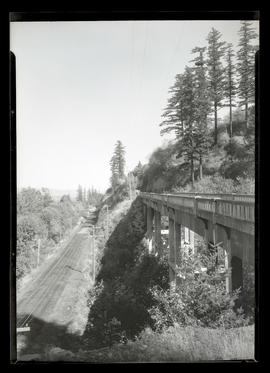 Bridge on Columbia River Highway