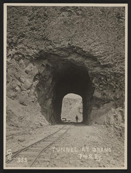 Tunnel at Drano, Columbia River Gorge