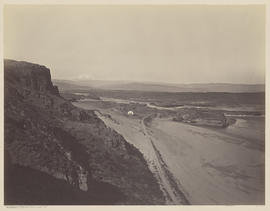 """Mt. Hood and the Dalles. Columbia River."" (Mammoth 455)"