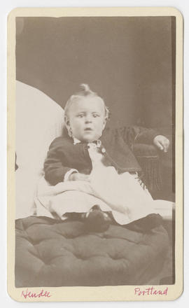 Denny H. Hendee portrait of an unidentified child