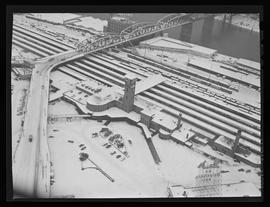 Aerial view of Portland Union Station, Portland