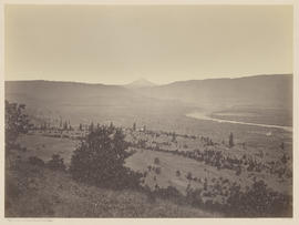 """Mt. Adams from Sunset Hill. Dalles City."" (Mammoth 452)"