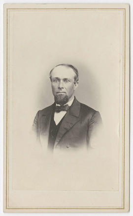 Portrait of an unidentified man from Wise & Prindle Studio