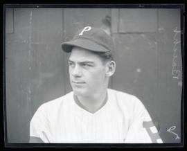 Baecht, baseball player, possibly for Portland Beavers