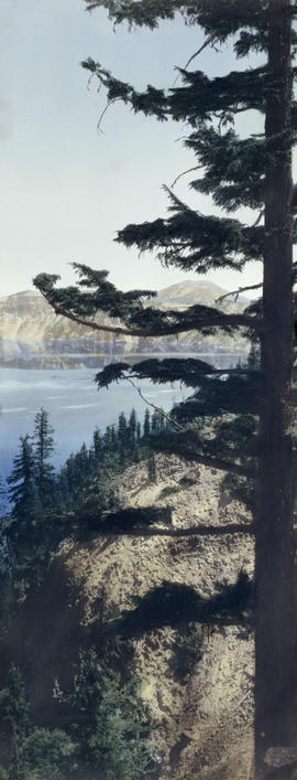East rim of Crater Lake, Oregon