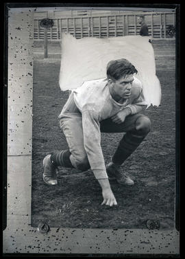 Photograph of Skip Dickerson, football player
