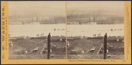"""Panorama of Portland and the Willamette River, Oregon. No. 3."" (Stereograph 1203)"