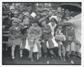 Children and nurses at unidentified event