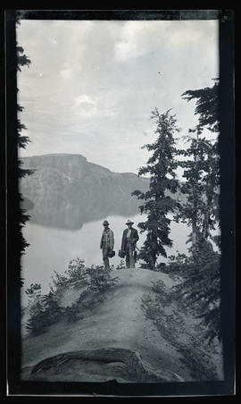 Fishing at Crater Lake