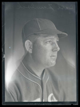 Carl Zawlock, baseball player, possibly for Oakland