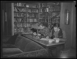 Library at Civilian Public Service Camp #21 at Wyeth