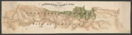 Map of the boundary between Oregon and Idaho from the junction of the Snake and Owyhee Rivers to ...