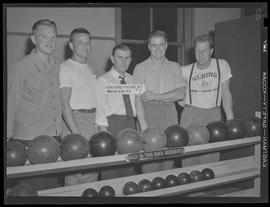 Albina Engine & Machine Works, marine electric #2 bowling team