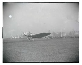 Russian airplane at Pearson Field, Vancouver, Washington