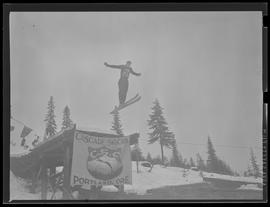 Ski jumper at Winter Sports Carnival