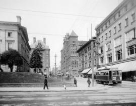 SW 5th and SW Morrison, 1907