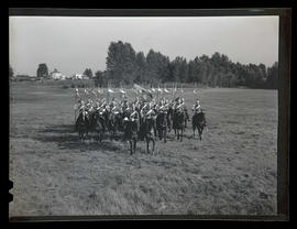 Soldiers from Lord Strathcona's Horse regiment