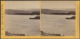 """Mount Hood, from Five Mile Creek, Columbia River."" (Stereograph 1321)"