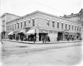 Parkhurst Hotel building, 2nd and Couch, Portland, 1914