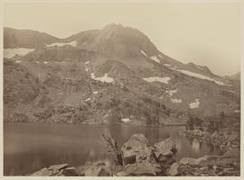 """Round Top from Lake Winnemucca, looking S.W. 1370 ft."" (Mammoth 1268)"