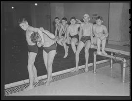 Y.M.C.A. junior lifeguard class