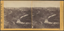 """Oswego Iron Works, Oregon."" (Stereograph 1213)"