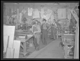 Workshop at Commercial Iron Works, Portland