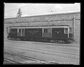 Standard interurban and express mail car #1191