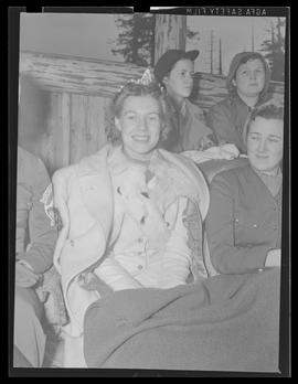 Claire Erickson, 1940 Winter Sports Carnival Queen