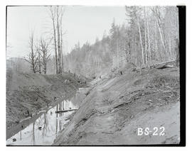 Bull Run, Big Sandy canal excavation