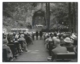 Outdoor service at The Grotto, Portland