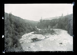 Cazadero Dam, lower dam site