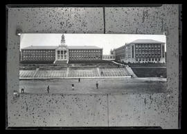 Photograph of Franklin High School and football players