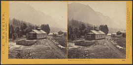 """Lower Cascades, Columbia River."" (Stereograph 1255)"