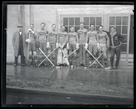 Spalding Aces hockey team