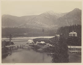 """The Upper Cascades. Columbia River."" (Mammoth 437)"