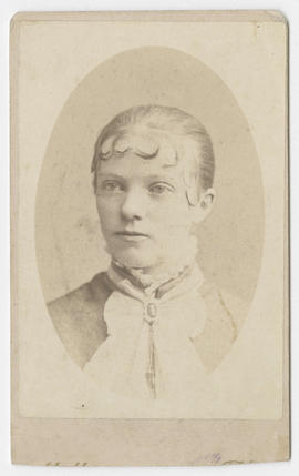 Frank G. Abell portrait of an unidentified woman