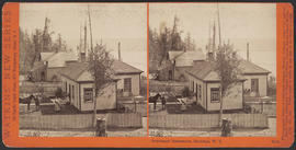 """Suburban Residence, Seattle, W. T."" (Stereograph 5230)"