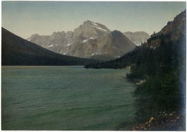 Lake Llian and Gould Mountain, Glacier National Park